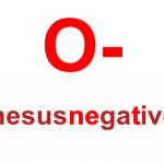 RH Negative Blood Type Characteristics