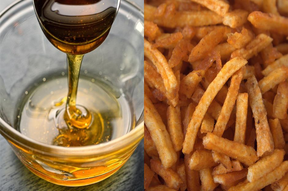 French Fries in Honey