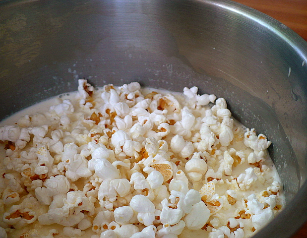 Popcorn and Milk
